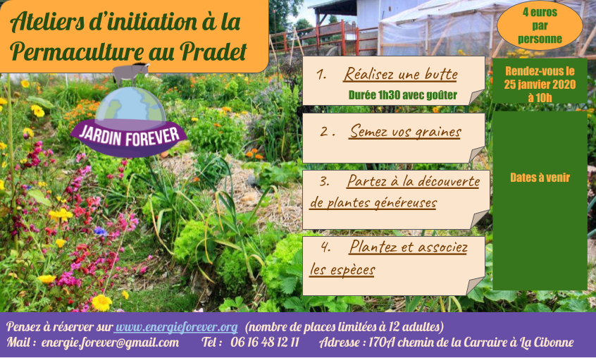 Ateliers permaculture