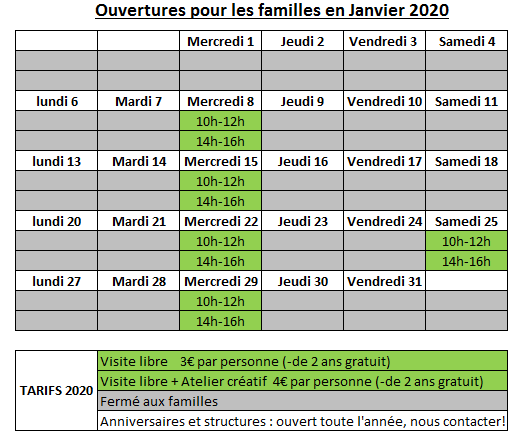 Planning famille janv2020